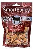 SmartBones Dog Treats (Bones), Chicken Flavour, Rawhide Free, 8 Mini Bones