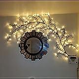 Arbre Lumineux LED, GOESWELL Decoration Murale interieur Lumières de Vigne D'arbre 144 LEDs Décoration de Noël Chambre Maison