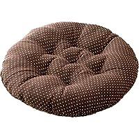 XUDES コットンクラフトの詰め物をした椅子のクッション、厚手の快適で特大の椅子に沈む-椅子は含まれていません(D/40X40)