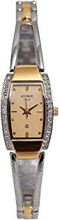Casual Watch for Women by Accurate, Silver, Oval, ALQ989