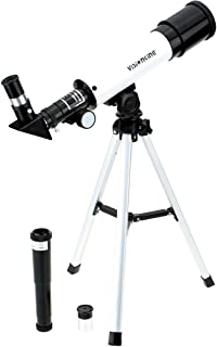 Festnight 360/50mm Monocular Space Astronomical Telescope Refractor Scope with Tripod