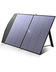 ALLPOWERS Foldable Solar Panel 100W, Portable Solar Panel kit for Portable Power Station, Solar Generator, Outdoor Foldable Solar Charger for Camping, Laptops, Motorhome, Caravan