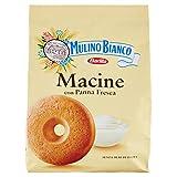 Mulino Bianco Biscotti Frollini Macine con Panna Fresca, Colazione Ricca di Gusto, 800 gr