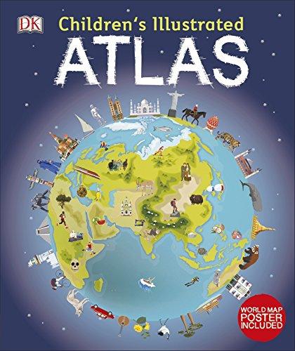 Children's Illustrated Atlas (Dk Childrens Atlas)