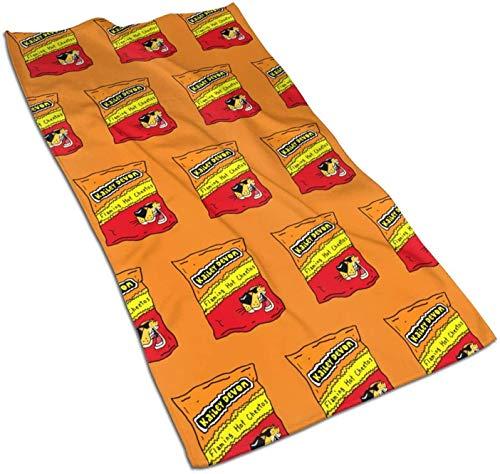 HUYIN Cheetos Towel Toalla de Mano Super Suave Baño SPA Fitness Sports Toalla