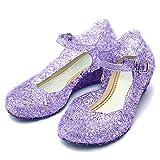 Katara-Zapatos De Princesa Sofía Con Cuña Disfraz Niña, color violeta, EU 29 (Tamaño del fabricante: 31) (ES10)