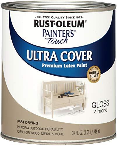 Rust-Oleum 1994502 Enamel Paint, Quart, Gloss Almond