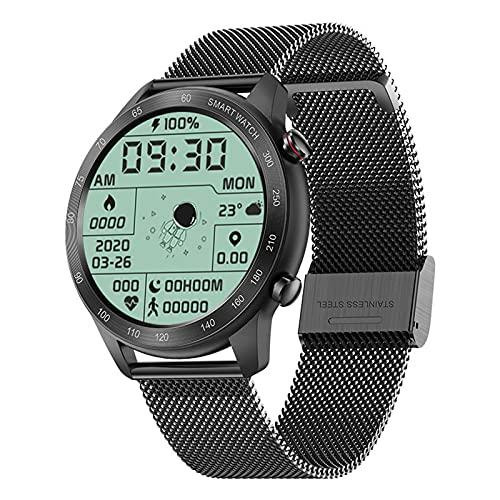 ZGNB MX5 Smart Watch, Chiamata Bluetooth, Riproduzione Musicale MTE, IP68 Impermeabile, Monitor per La Pressione Sanguigna, Fai da Te Smartwatch PK TK88 per Android iOS,D