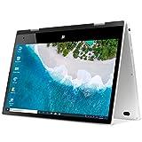 iProda 11.6 Pulgadas Ordenador Portatil, 2 en 1 Táctil Convertible Laptop con Pantalla Táctil (Intel Quad Core N4100, 4GB RAM, 64GB SSD 512GB TF Extensión,Windows 10 Pro) Cuerpo Totalmente metálico