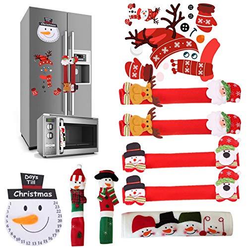 N/G Cubierta de la manija de la puerta del refrigerador de la nevera, el microondas, el horno y el lavavajillas, las manillas de la puerta de la cubierta