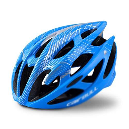 ASDFY Casco de Bicicleta de Carretera Casco de Bicicleta Ligero Casco de protección de Bicicleta de montaña para Adultos Transpirable Moldeado integralmente