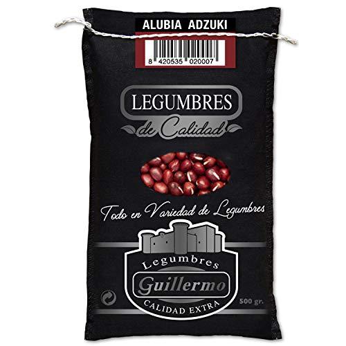 Guillermo Alubia Azuki Judía Gourmet Calidad Extra Saco 500Gr 500 ml