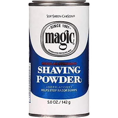 SOFT SHEEN Carson Magic Regular Strength Shaving Powder BLUE 5oz/142g