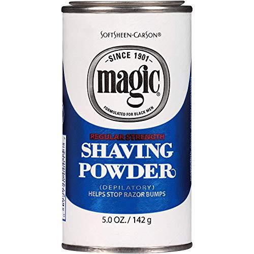 Soft Sheen Carson Magic Regular Strength Shaving Powder Blue 5Oz/142G by Magic