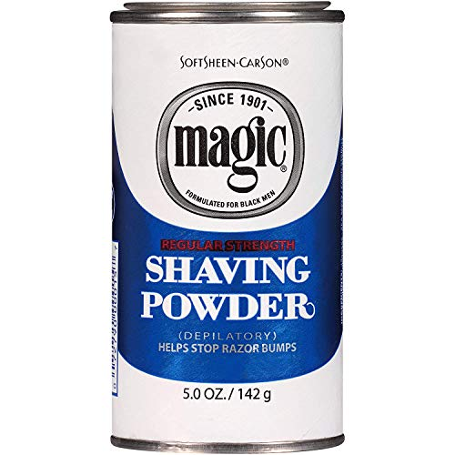 Magic Shaving Powder Blue 5 Ounce Regular Depilatory (145ml) (2 Pack)