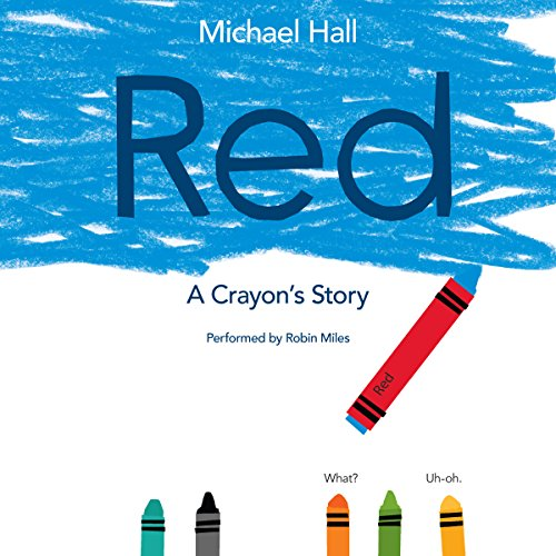 Red: A Crayon's Story audiobook cover art