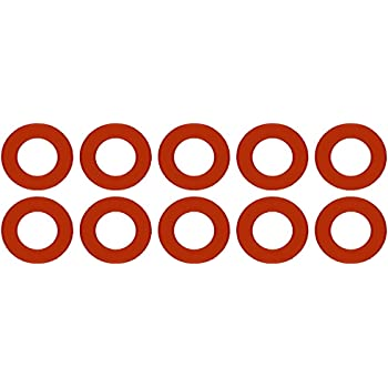 Pressure Class 150# Pack of 5 20 Pipe Size 20 ID Sterling Seal CRG7237.2000.062.150X5 7237 Red Rubber Ring Gasket 1//16 Thick