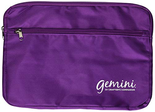 Gemini GEM-ACC-PSB Plate Storage Bag, Purple, 9 x 12.5-Inch