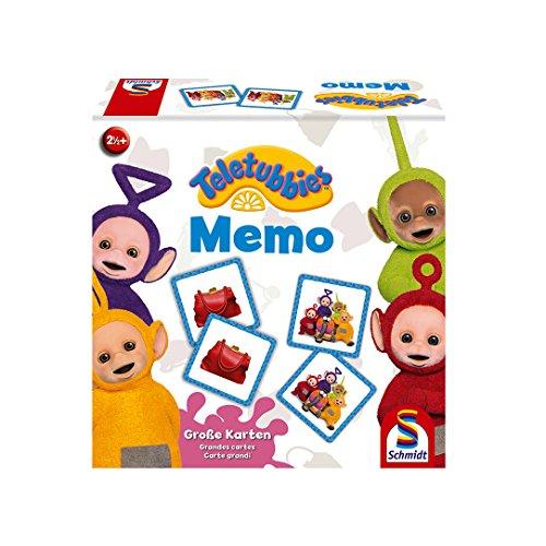 Schmidt Spiele 40584 Teletubbies, Memo, Kinderspiel