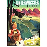 SDGW Schweiz St.Gallen Tourismus Poster Unterwasser
