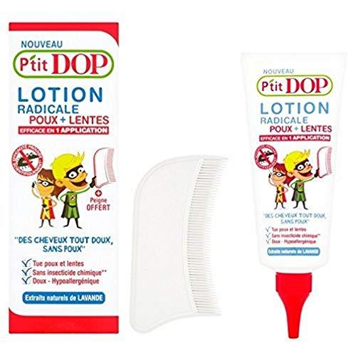 P'tit Dop Lotion Radicale Anti-Poux et Lentes - Aux Extraits Naturels de Lavande - Dès 3 ans - 100 ml