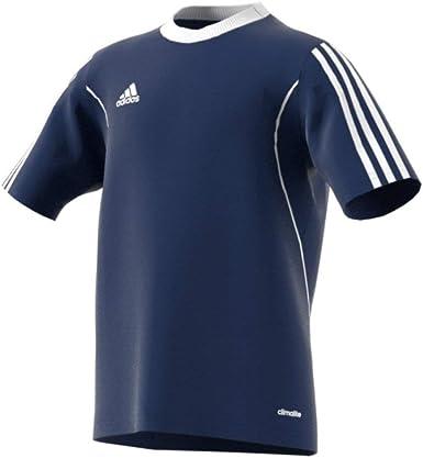 Amazon.com : Adias Squadra 13 Youth Soccer Jersey YM New Navy ...