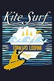 Kitesurf Forward Looping: Blank Paper Sketch Book - Artist Sketch Pad Journal for Sketching,...
