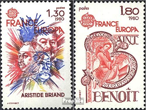 France mer.-no.: 2202-2203 (complète.Edition.) 1980 €urope (Timbres pour Les collectionneurs)