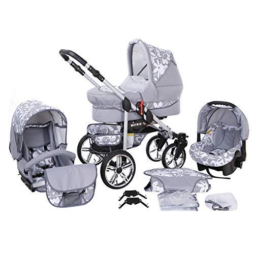 Travel System Stroller Pram Pushchair 2in1 3in1 Set Isofix X-Car by...