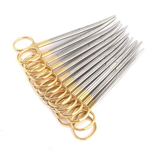 Great Deal! DDP Set of 12 SUPERCUT METZENBAUM Scissors 5.5 Curved Stainless Steel