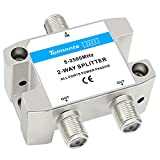 Tolmnnts Coaxial Cable Splitter 5-2500MHz,Work with CATV,...