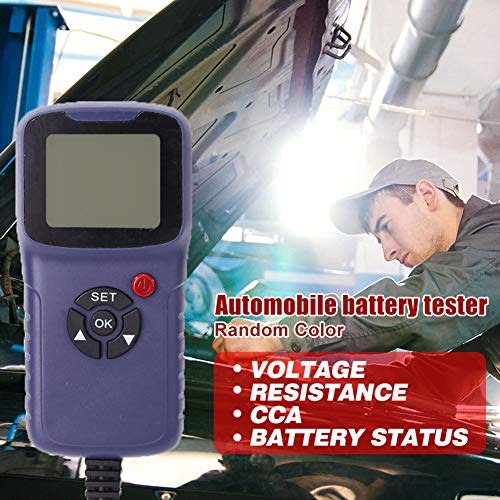 Why Choose xiaoying Car Battery Tester, Battery Analyzer, Automotive Digital Battery Analyzer Voltage Resistance Test Tool for Vehicle