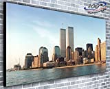 Kunstdruck auf Leinwand, Motiv New York Twin Towers,