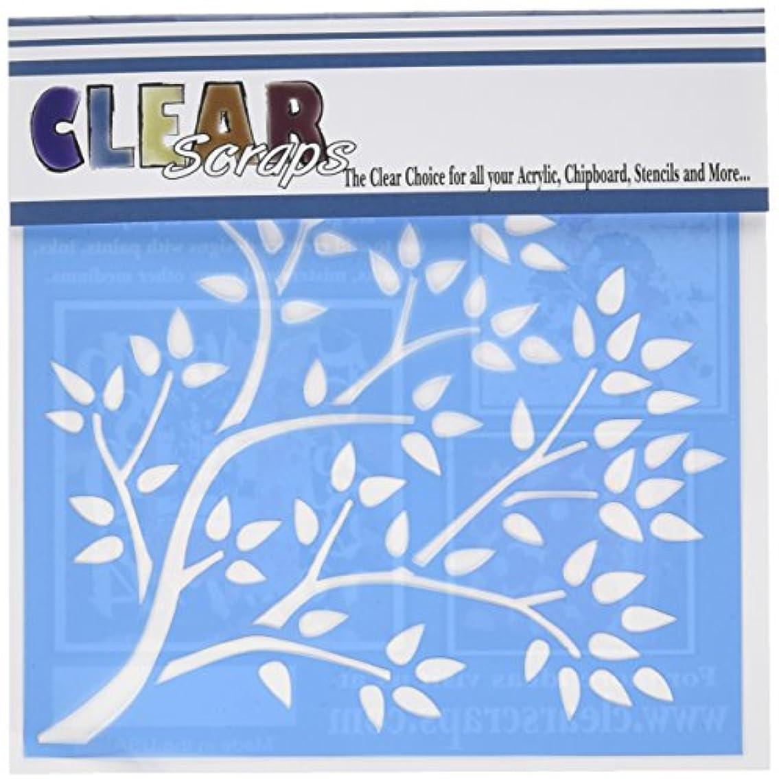 Clear Scraps CSSMTRBRANCH Stencils, 6