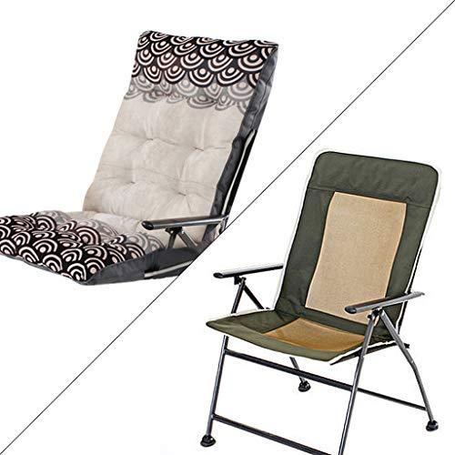 Chaise pliante chaise de bureau à domicile Siesta College Dortoir Dortoir Ordinateur Chaise Chaise arrière Canapé Chaise amovible et lavable Roulement haute charge (Couleur : Blanc)