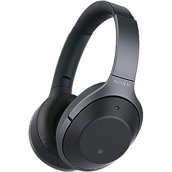 ソニー ワイヤレスノイズキャンセリングヘッドホン WH-1000XM2 : Bluetooth/Amazon Alexa搭載/ハイレゾ 最大30時間連続再生 密閉型 マイク付 2017年 ブラック WH-1000XM2 B