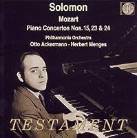 Mozart: Piano Concertos Nos. 15, 23 & 24 (2001-11-13)