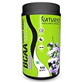 Naturyz Instantized BCAA Energy Blast with 7000 BCAA, Glutamine, Citrulline & Beta Alanine (Blueberry Mojito Flavor) - 450Gms bcaa blue raspberries May, 2021