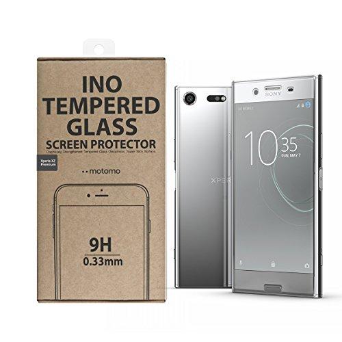 motomo Xperia XZ Premium 液晶保護 ガラスフィルム INO 0.33mm エクスペリア エックスゼット プレミアム カバー SO-04J 5.5インチ 液晶フィルム 【日本正規代理店品】 MT9992XZP