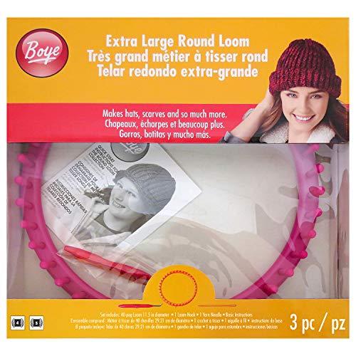 Boye, Rosa, Extra Grande Redondo 40 Pegs Loom