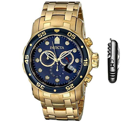 Kit Relógio Invicta Pro Diver 0073 + Chaveiro Estilo Suíço 11 Funções Marca CM