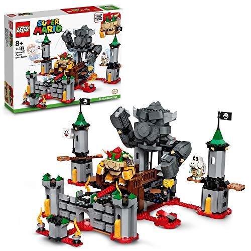 Oferta de LEGO 71369 Super Mario Set de Expansión: Batalla Final en el Castillo de Bowser, Juguete de Construcción para Niños +8 años