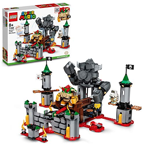 LEGO71369SuperMarioSetdeExpansión:BatallaFinalenelCastillodeBowser,JuguetedeConstrucciónparaNiñosa Partir de 8años