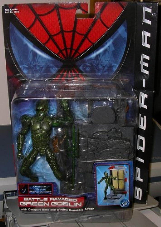 Spider-man Movie Grün Goblin Battle Ravaged 15 cm Action Figure