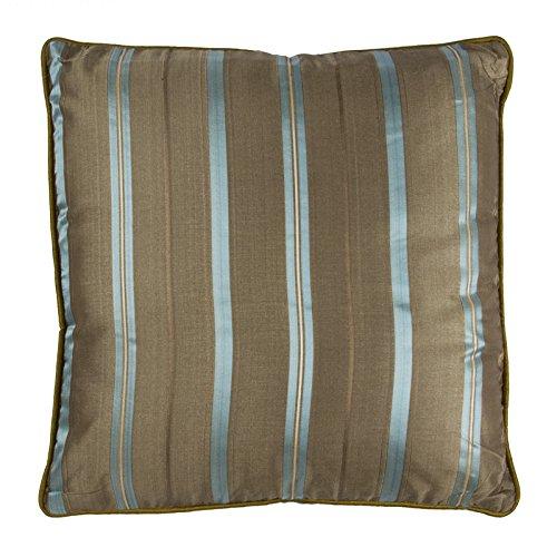 Thedecofactory Zara Kissen, Polyester, blau, 40 x 40 x 3 cm