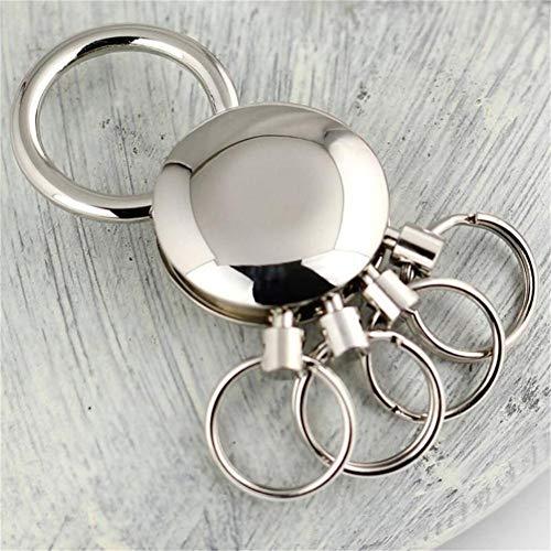 YCEOT Riem Clip Broek Op Ketting Taille Afneembare Sleutelhanger Houder 4 Ring Sleutelhanger Sleutelhanger