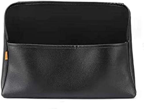 2021 WANFH Car Pocket Handbag Holder,Large Leather online sale Black Car Organizer (Smooth) discount (Checkered) online