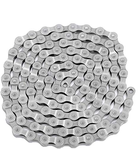 TOOPRE 6/7/8-Speed Bicycle Chain, 116 Links ​​Steel High Strength Bike Derailleur Chain for 6/7/8-Gear Road Mountain Bicycle (4.9ft)