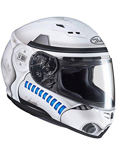 HJC Helmets Hjc Star Wars Motorradhelm Cs-15 Storm Trooper Mc10 Weiß (Xx-Large, Weiß)