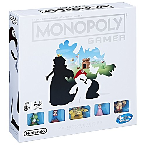Hasbro Games - Juego de Mesa Monopoly Gamer
